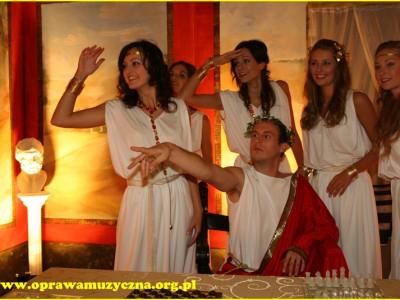 Starożytny Rzym – uczta u Cezara